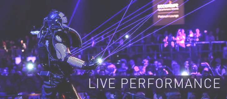 robot-a-led-performer-laser